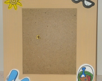 3.5in X 5in Beach Picture Frame