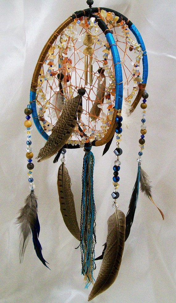 3D Bohemian Gemstone Dreamcatcher