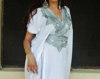 Caftan Marrakech Style-loungewear,resortwear, beachwear, great for Birthdays, Honeymoon or Maternity Gifts