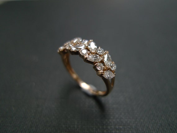 marquise engagement ring wedding ring diamond ring diamond wedding band marquise ring - Marquis Wedding Ring