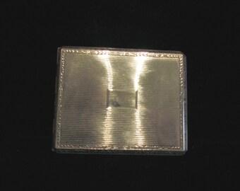 Antique Cigarette Case E B M Co. 1900's Cigarette Case  Edwardian Card Case Antique RARE