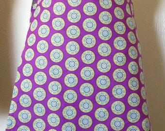 Wrap Around Skirt - Hearts and Circles