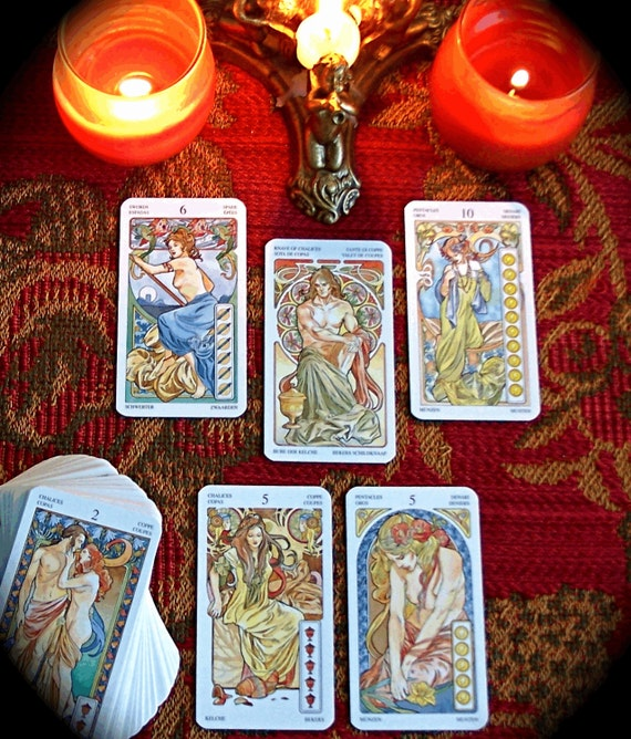 Love Tarot Card Reading 5 Cards For Romance By Camillareads