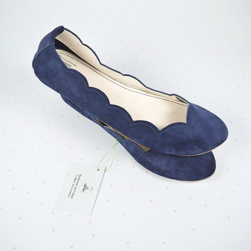Scalloped Flats Shoes