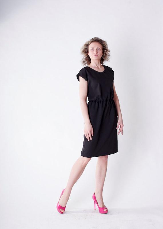 Items similar to Little black dress, Simple elegant ...