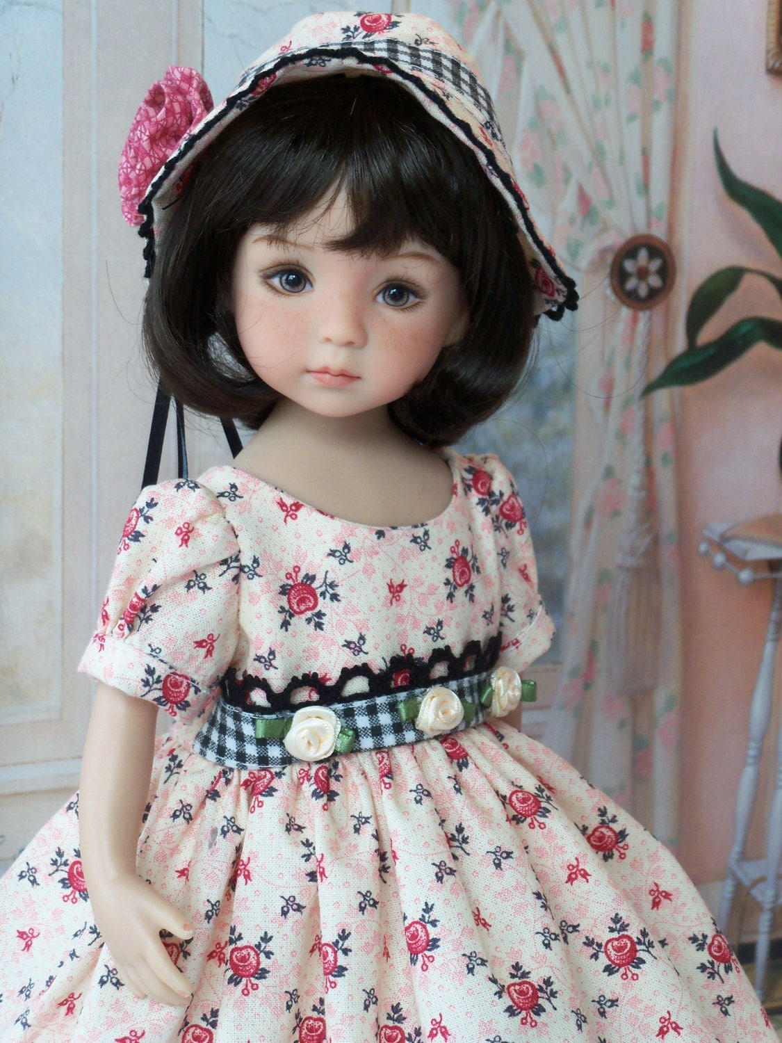 spring gown and bonnet for dianna effner 13 little