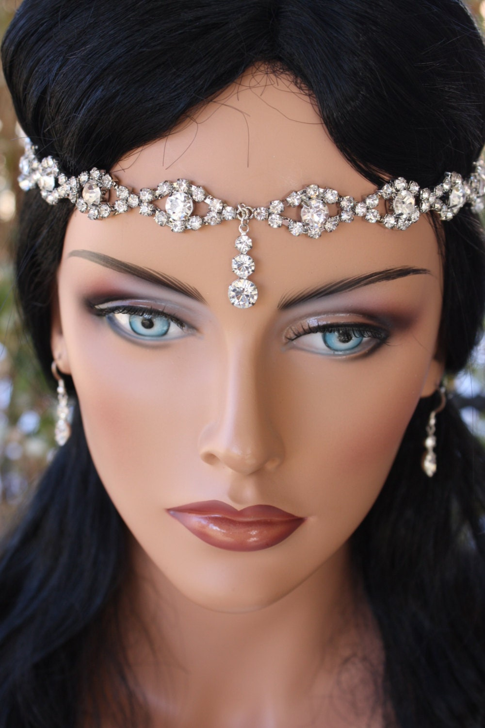 Gorgeous Bridal Head Circlet Head Piece Head Dress Forehead