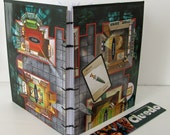 SALE Cluedo journal - Cluedo notebook - eco-friendly journal - game board notebook - geekery - gift for guys