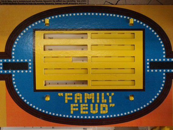 how to play family feud board game