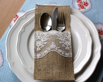Sample cutlery holder