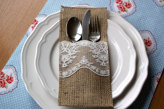 artsy lace and burlap little white boutique on Etsy