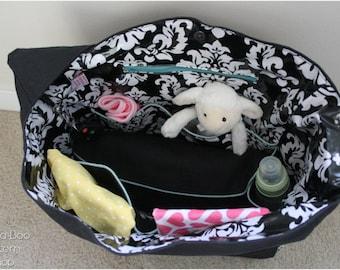 Does it All Diaper Bag: Diaper Bag Pattern, Tote Bag Pattern