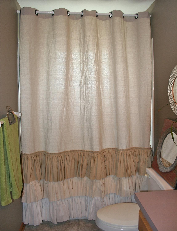 White Ruffle Crib Skirt