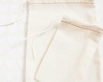 10 Cotton Bags - LARGE