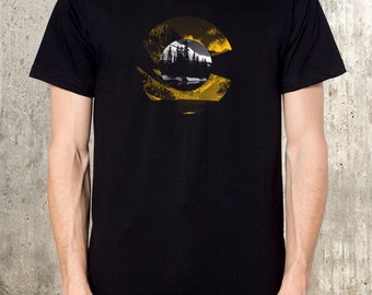 Colorado Mountains and Lakes - Men's Screen Printed T-Shirt - Available in S, M, L, XL and 2XL