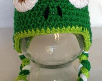 Chameleon Earflap Hat