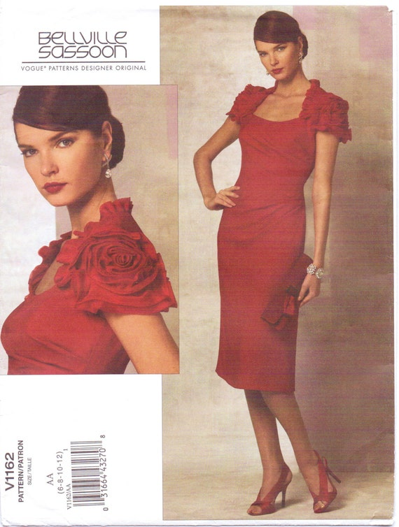 Bellville Sassoon dress pattern - Vogue 1162