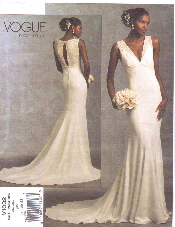 Wedding Dresses Patterns Vogue