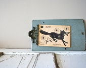 Vintage Original 1950s Fox Paper Shooting Target