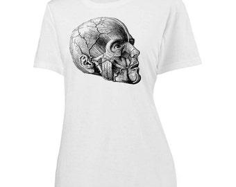 Womens Screen Printed Anatomy Shirt