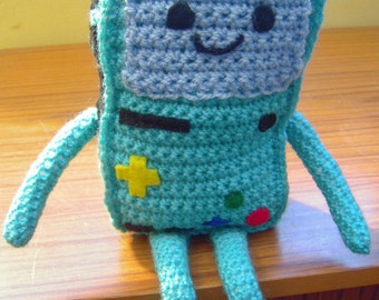 Crochet Beemo from Adventure Time - Made to Order