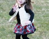 Little Girls Skirt  - Toddler Girl Skirt -  Cute Little Baby Skirt - Newborn to Girls 7 Sizes