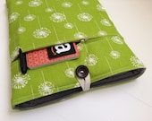 Mac Air 13 inch Case -  Dandelions - Padded with Bonus Front Pocket