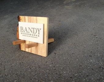 Adirondack business card holder by BANDY