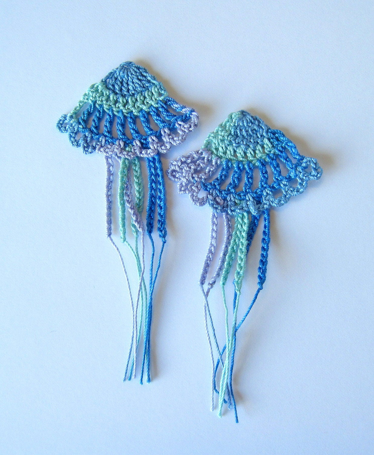 Crochet Jellyfish Applique