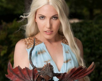 Fully Painted Standard Dragon Kit great for Game of Thrones Daenerys Drogon Cosplay Prop