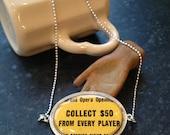 Vintage Monopoly Grand Opera Necklace