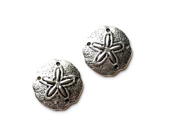 Sand Dollar Cufflinks - Gifts for Men - Anniversary Gift - Handmade - Gift Box Included