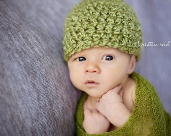 Newborn beanie Photography prop (33 color options, available in nb, 1-3mos, 3-6mos, 6-12mos)