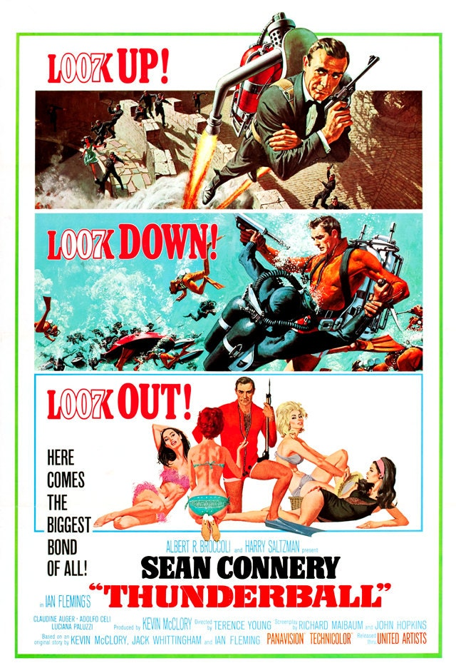 James bond 007 thunderball home theater media room decor for 007 room decor