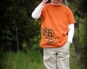 Squirrel acorns kids t-shirt