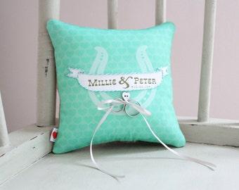 Wedding Ring Cushion - Made to Order