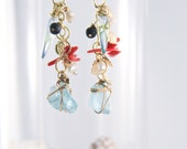 Beachy Glass Earrings