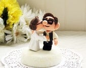 Special / Custom Wedding Cake Topper - Star Wars Kissing Couple (UP)