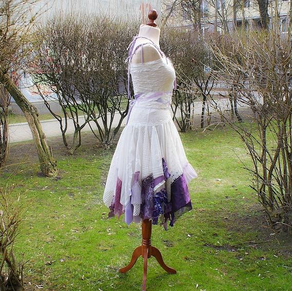 Alternative Wedding Dress Mori Girl Romantic Tattered By