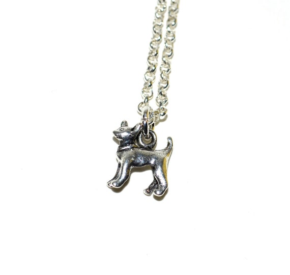 Chihuahua Necklace, Tiny Dog Jewelry, Silver Chihuahua Pendant, Dog Necklace, Dog Jewelry, Chihuahua Charm, Dog Pendant, Chihuahua Jewelry