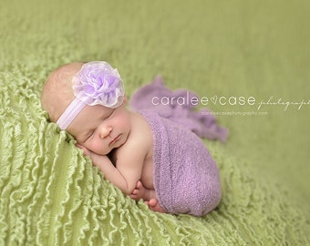 SALE Baby Headbands - You Pick 1- Chiffon Puff Infant Headbands - Baby Girl Headbands - Baby Hair Accessories - Baby Hairbows - Newborn