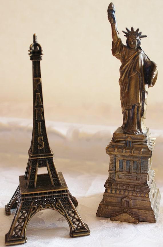 Statue Of Liberty Souvenir Eiffel Tower Statue
