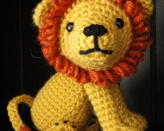 PATTERN: Crochet Amagurumi Lion