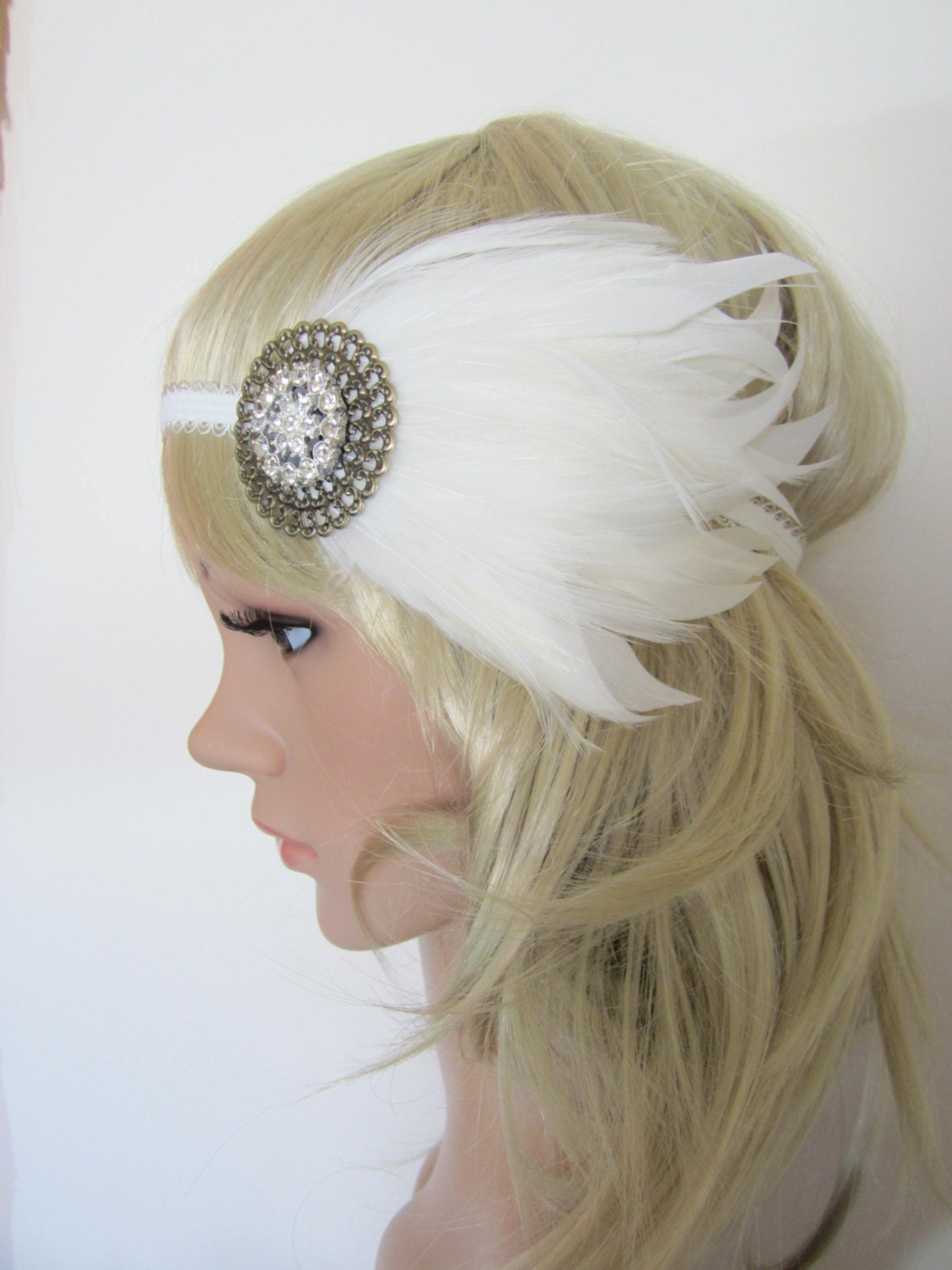 Flapper Headpiece Ebay Flapper Headband Ebay Find