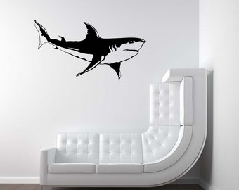 Jaws Sticker Etsy
