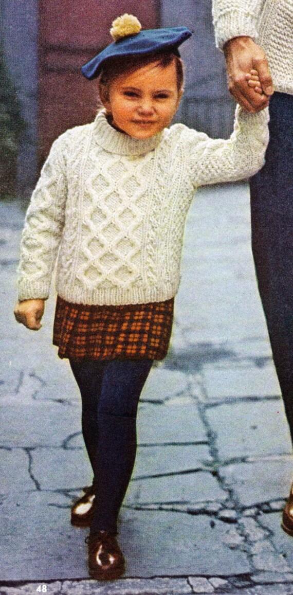 Items Similar To Children S Knitting Pattern For Child S