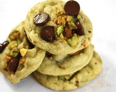 Soft Pistachio Chocolate Chip Cookies, 2 dozen