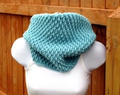 Crochet Cowl Pattern - Tightly Textured Hooded Cowl - PDF file - PATTERN only