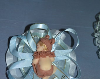 Baby Shower capias/pin ons/corsages/ favor capias/ mother to be corsage/ grandma to be corsage jungle theme.