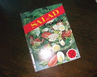 Vintage Cookbook Family Circle Salad Cook Book HC